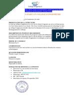 Offre d'Emploi College d'Ingenieurs