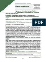 Alternativas ecológicas en el control de Spodoptera frugiperda (Smith) (Lepidoptera