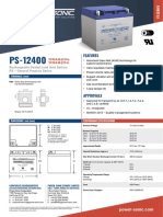 PS-12400 technical specifications