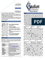 Chess Magazine Gaudium 114