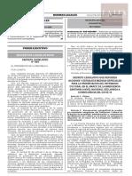 Decreto Legislativo N.º 1467