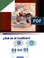 Manejo de conflictos, Sara Chain Morales, 2007-1