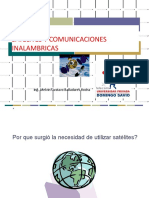Satelites y Comunicaciones Inalambricas
