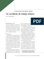 CASO CLINICO-ACCIDENTE DE TRABAJO