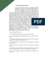 ARTICULO 202-218 DE LA CONSTITUCION