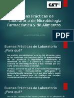 Buenas Prácticas de Laboratorio de Microbiología Farma Alim