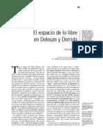 Derrida Deleuze libertad