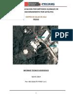 A. INFORME GEODESICO- CENTRO DE SALUD DE JILILI