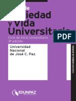 SOCIEDAD Y VIDA UNIVERSITARIA