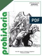 PROHISTORIA 13 (2009) - Tapa, índice y sección reseñas completa