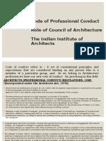 3. role of professional conduts, COA,IIA