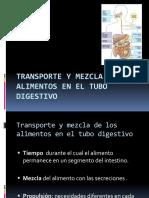 TRANSPORTE Y MEZCLA