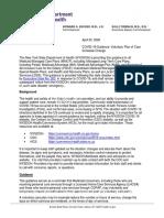 COVID-19 Vol PCS Schedule Change