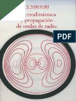 Electrodinamica Y Propagacion De Ondas de Radio - Nikolski