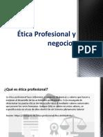 01-Ética Profesional y negocios-01