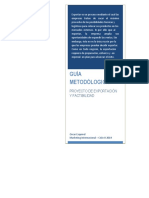 Guía para elaborar un Plan de Exportaciones - PLANEX