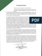 Declaracion Publica Segfish Chile SPA FIRMADA