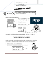 Módulo 1 Productos notables y multiplicación de Polinomios
