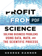 Profit from Science,George Danner, 1st edition 2015