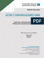 Actas Seminario Latinoamericano Teoria y Politica sobre Asentamientos Populares UNGS 2018.pdf