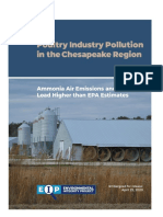 Environmental Integrity Project poultry pollution report