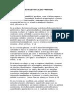DEFINICIÓN DE CONTABILIDAD FINANCIERA