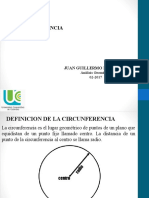 Clase AG circunferencia