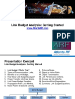 Link Budget - Getting Started