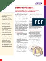 iRMX for Windows Datasheet_2.23