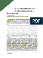 Vaz Ferreira (montevideo 1872-1958) a los 50 años de su muerte