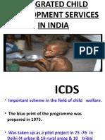 ICDS PROGRAMME