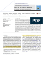 Agricultural land use suitability analysis using GIS and AHP technique.pdf