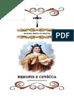 Siostra Maria Od Krzyza- Rekopis z Czyscca