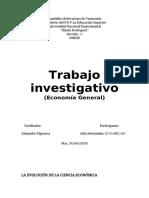 Trabajo investigativo