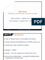 Parisfxlab - Projet Microwd