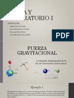 Gravitacion Universal - Peso - Tercera Ley de newton