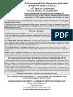 2011 IEPMA Conference Agenda