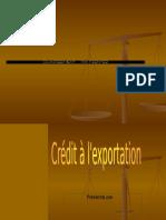 Credit à l'Export