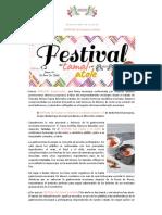 00 Boletiěn de prensa. Fest Tamal y el Atole