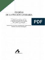 Garrido Dominguez Antonio - Teorias De La Ficcion Literaria