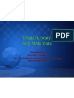 Digital Library and Metadata