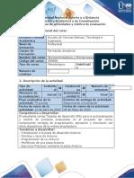 Guía de actividades y rubrica  de evaluación - Paso 4 - Implementar el uso de placas de desarrollo Hardware