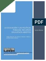 La Educación y las políticas públicas, Recursos Educativos Abiertos (1)
