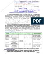 PG - Medical and Dental Admission - 2019- Conduct of Stray Vacany  Round Counseling.pdf