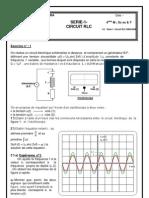 Série-1- Circuit RLC 2008-2009
