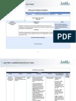 Planeación didáctica  U2 Conducta individual