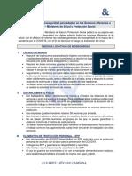 Circular -Lineamientos de Bioseguridad para adaptar en los Sectores diferentes a Salud
