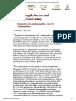 Deutsche in Lateinamerika_ das 19