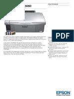 Epson Stylus DX5050 Datasheet