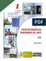PRESENTACION PROYECTOS ENERGETICOS EN CHOCO